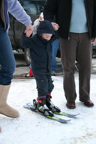 Eli on Skis