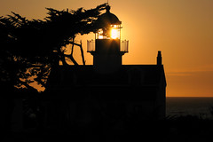 Point Pinos Light (anadelmann) Tags: california ca sunset usa lighthouse night canon monterey nacht beautifullight pacificgrove canonpowershot blueribbonwinner pointpinoslight g9 mywinners abigfave f2549 platinumphoto anawesomeshot diamondclassphotographer flickrdiamond theunforgettablepictures betterthangood theperfectphotographer canonpowershotg9 tup2 anadelmann nxpl