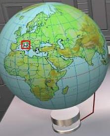 你拍攝的 St.12 - 地球儀。