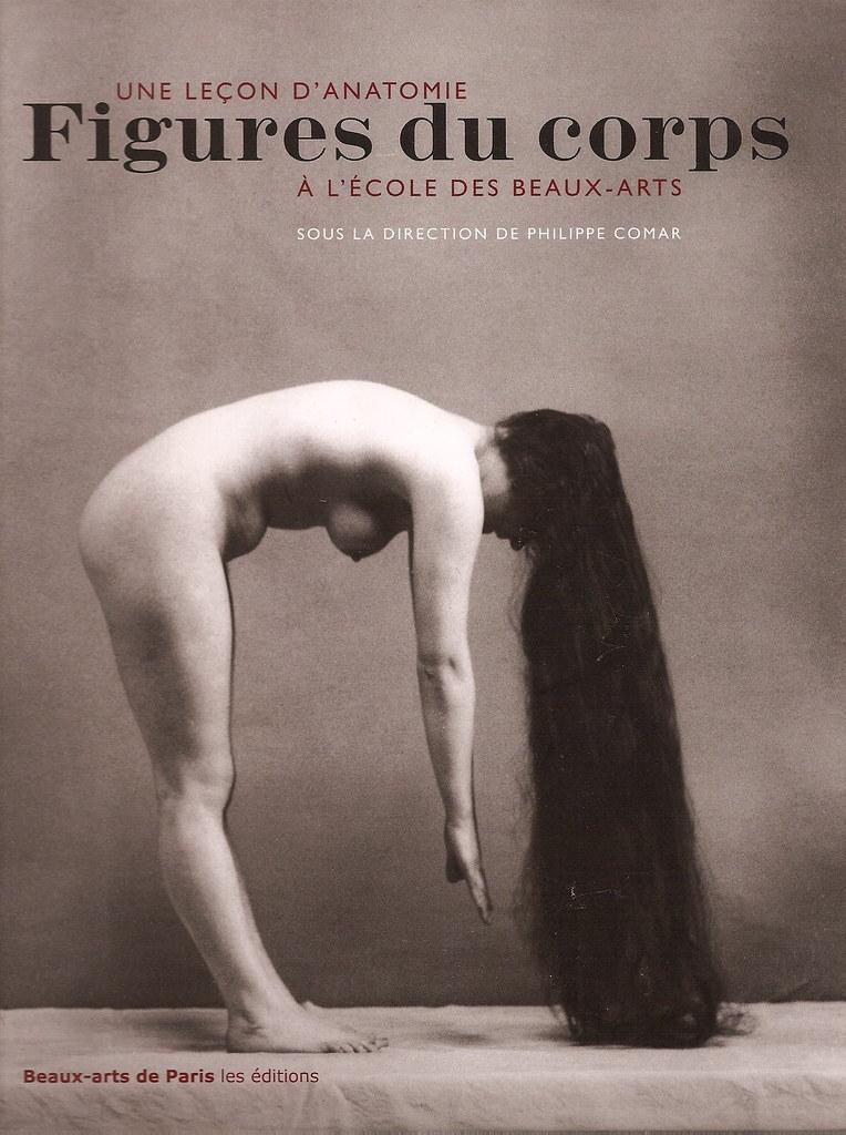 Book Cover of Une Leçon D Anatomie Figures du corps a LÉcole des Beaux-Arts. Philippe Comar, ed.