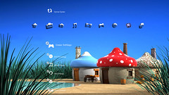 The Smurfs Free PS3 Theme Preview