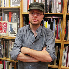 Bryan Leitgeb, owner of Mast Books