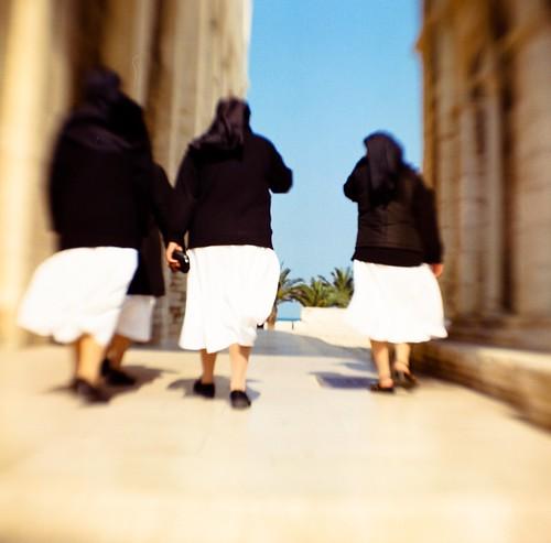 Nuns in Trani, Italy
