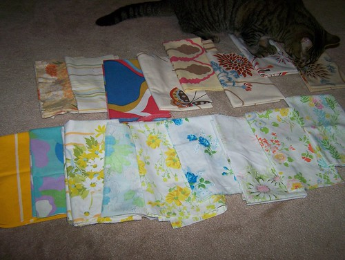 Vintage sheet FQ swap