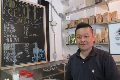 Spring For Coffee: Owner Ken Yoshitake