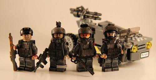 Custom minifig The Rangers