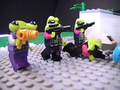 Area 51 base 12 is under attack! (Lego Motion) Tags: is lego under attack area 51 12 base