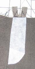 Zipper Fly step 12