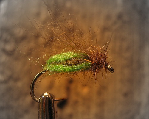 Green Deep Sparkle Pupa