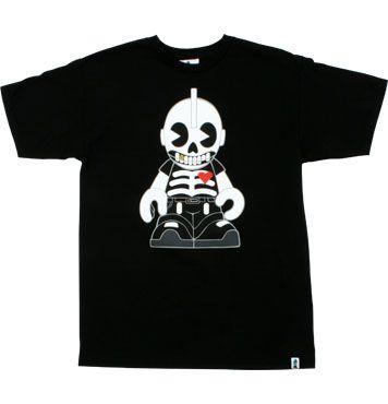 kidrobot skeleton t shirt