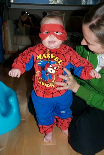 Damien's First Halloween