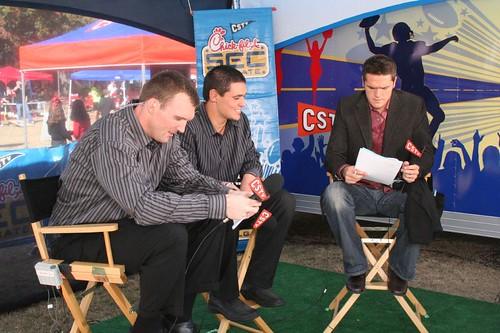 CSTV SEC Tailgate Show Set