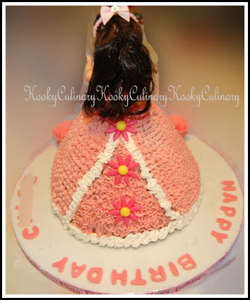 Princess Cake - Back