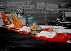 Air India Express B737-800 VT-AXF (Aiel) Tags: boeing bom aix b737 selectivecolourisation b737800 kurla airindiaexpress vtaxf b737ng aiexpress vabb jarimari b7378q8
