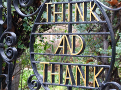 Think and Thank (Ronald Hackston) Tags: london gate think wroughtiron explore thank lettering guesswherelondon londonguessed wandsworth putney onexplore winchesterhouse gwl interestingness15 i500 guessedbymintea