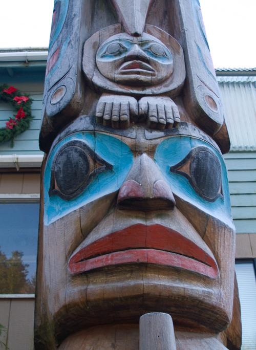 Newman Totem, Ketchikan, Alaska