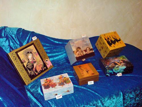 Spiritual boxes at Frankie's