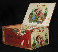 Kodak Cigar Box (Photo_History - Here but not Happy) Tags: kodak snapshot cigar cigarbox viewcamera kodakcigars snapshotcigars