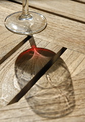 The Last Glass (mischiru) Tags: red glass wine sonoma refraction napa