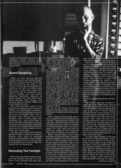 Vince Clarke Interview 1984 (2of4) (Neil Vance) Tags: london studio eric c 4 vince neil pop e roland 1984 jupiter mode radcliffe downstairs depeche clarke synthesizer vance splendid se1 yaz fairlight erasure tr808 yazoo jp4 neilvance