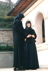 Romanian Orthodox nuns - Monastery (convent) near Slatina (jrozwado) Tags: church europe nun monastery romania orthodox convent romnia