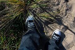 i wore converse!