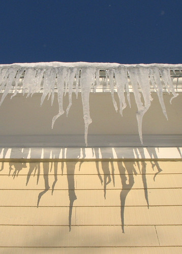 Day 2 - Icicles on Crack.