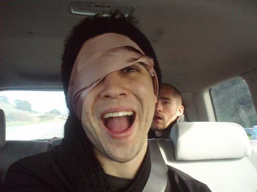 Stupid Blindfold.