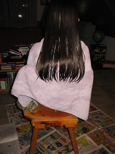 Pre-haircut Hannah