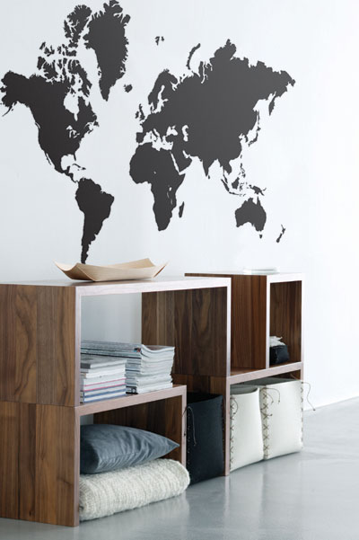 worldmap decal