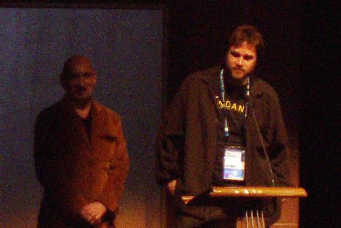 Brad Anderson & Sir Ben Kinglsey