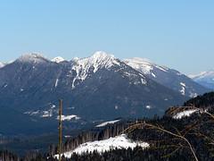 Little & Big Deer Peaks,  as seen from Stimson Hill,1.22.08.