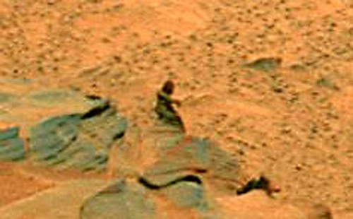 Marciano fotografiado por la sonda Spirit
