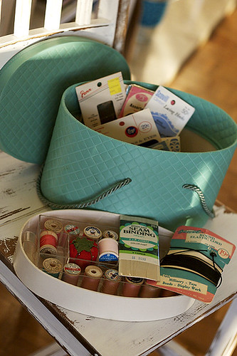 my new sewing basket
