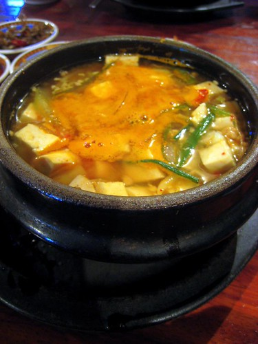 I was dehydrated from our day in Ayutthaya, so I ordered some miso soup