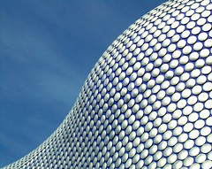 sweetness (nyah74) Tags: uk blue wallpaper england sky detail building texture architecture facade circle birmingham selfridges bullrign nyah74 1on1architecturephotooftheweek 1on1architecturephotooftheweekfebruary2008