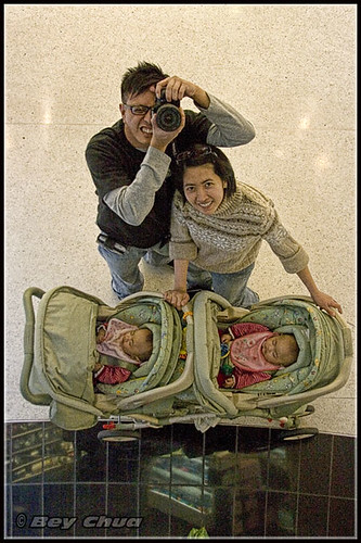me and my family @ the mall