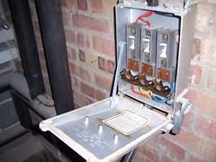 Fuse Box  with asbestos
