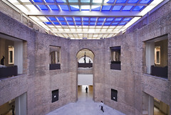 Pinacoteca Sao Paulo 07 (weyerdk) Tags: brazil texture architecture conversion saopaulo space masonry skylight modernism exhibition 1998 renovation brasileiro courtyards pinacoteca reuse restauration smoothness diaadia roughness paulomendesdarocha stateartmuseum