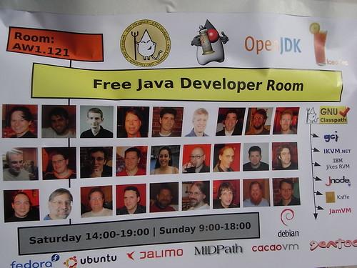 Free Java Developer Room