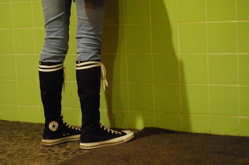 3e2b20db9b5c97 Converse xx-hi (knee high chucks)
