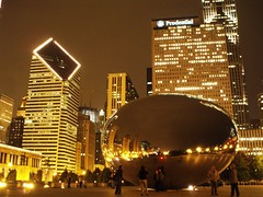 bean (volvidejapon) Tags: city travel usa chicago night lights illinois bean flavio arquitecture dma 2007 milleniumplaza allrightsreserved volvidejapon todoslosderechosreservados directmarketingasociation volvidejapon volvidejapon