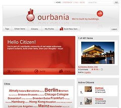 ourbania: homepage