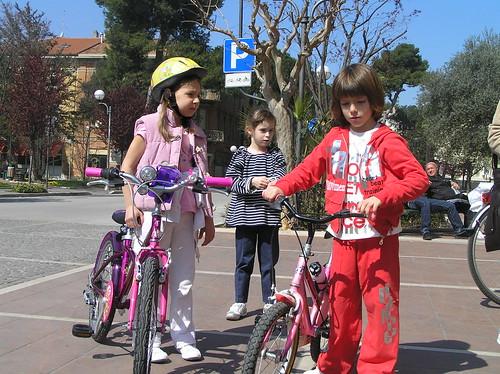 All'arrivo dello Sciame di Biciclette