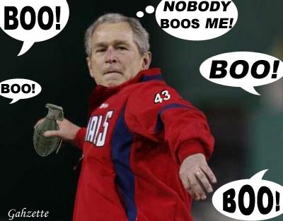 Bush Booed