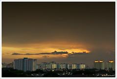 After the sun goes down (Dashuki Mohd) Tags: city sunset sky clouds landscape lights evening nightshot malaysia slowshutter kualalumpur kl citiscape cokin wangsamaju tamron1750mm p121s canon400d gradnd8 awe2020 lensafarisian