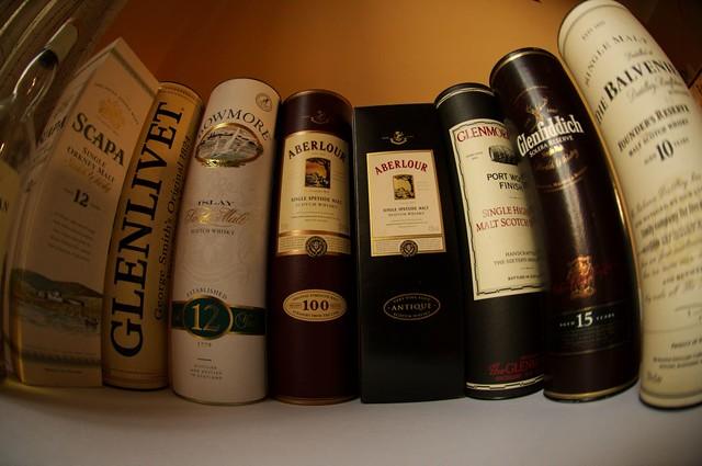 Day 193: Whiskies