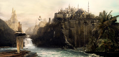 lost_world mattepainting (---stress---origami samurai!) Tags: world green water museum digital photoshop painting lost ruins ship ivy shy palm sorin romania matte mountin timisoara mattepainting bechira outstandingromanianphotographers