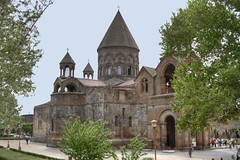 Echmiadzin Cathedral (Vahancho) Tags: church armenia hdr  photomatix echmiadzin  ejmiatsin