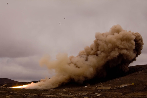 Space Shuttle Booster TEST